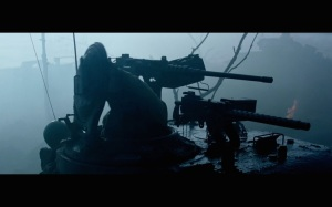 "An idea of how some of the darker scenes look in ""Fury"""